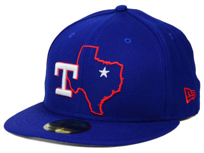 Texas Rangers MLB States 59FIFTY Cap Hats