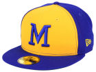 Milwaukee Brewers New Era MLB Cooperstown 59FIFTY Cap Fitted Hats