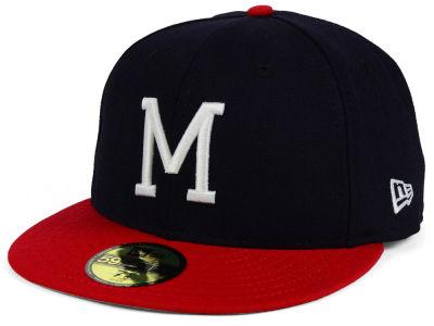 Lids Custom Hats >> Milwaukee Braves New Era MLB Cooperstown 59FIFTY Cap ...