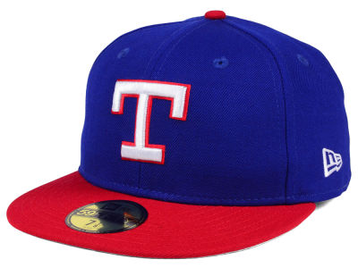 Texas Rangers MLB Cooperstown 59FIFTY Cap Hats