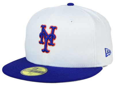 New York Mets MLB Cooperstown 59FIFTY Cap Hats