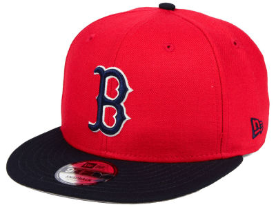 Boston Red Sox MLB 2 Tone Link 9FIFTY Snapback Cap Hats