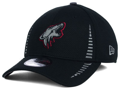 Arizona Coyotes NHL Black Ice 39THIRTY Cap Hats