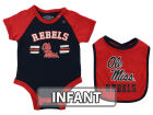 Ole Miss Rebels Colosseum NCAA Infant Dribble Onesie & Bib Set Infant Apparel