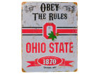 Ohio State Buckeyes Vintage Metal Sign 11x14 Collectibles