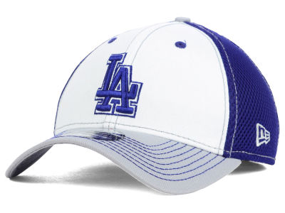 Los Angeles Dodgers MLB White Front Neo 39THIRTY Cap Hats