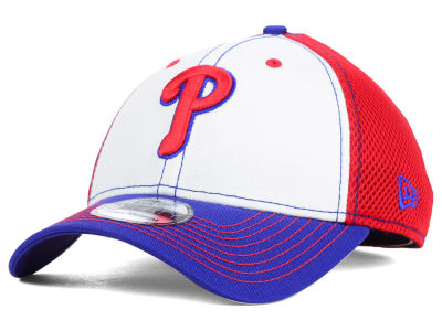 Philadelphia Phillies MLB White Front Neo 39THIRTY Cap Hats