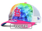 St. Louis Cardinals New Era MLB Youth Gem Trucker 9FORTY Cap Adjustable Hats