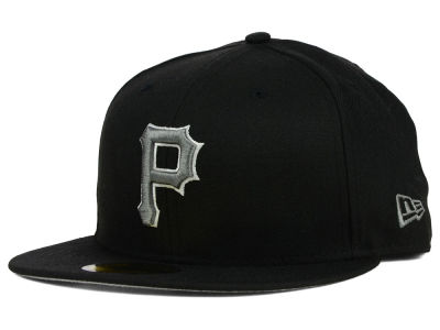 Pittsburgh Pirates MLB Black Graphite 59FIFTY Cap Hats
