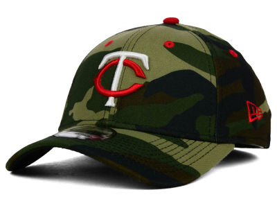 Minnesota Twins MLB Camo Classic 39THIRTY Cap Hats