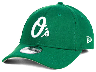 Baltimore Orioles MLB St. Patty Classic 39THIRTY Cap Hats