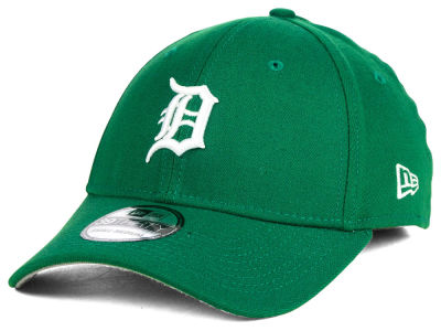 Detroit Tigers MLB St. Patty Classic 39THIRTY Cap Hats