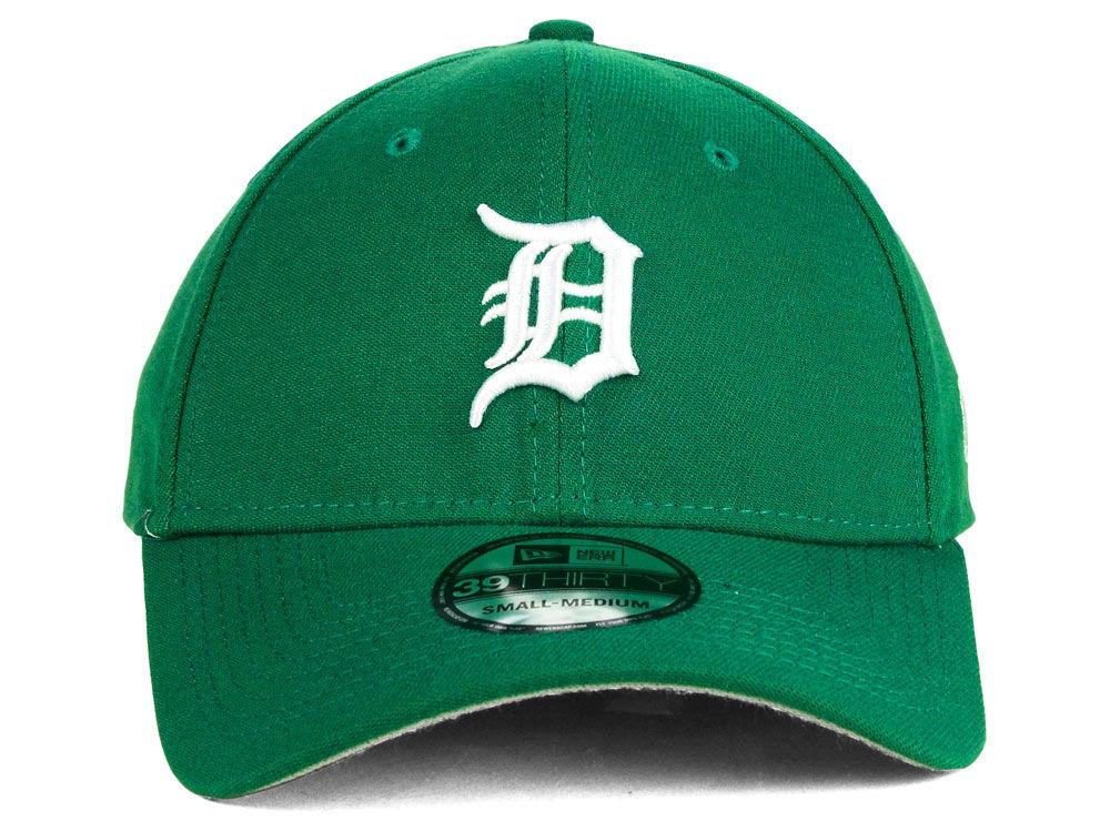 innovative design fe24a 62f58 70%OFF Detroit Tigers New Era MLB St. Patty Classic 39THIRTY Cap