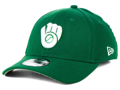 Milwaukee Brewers MLB St. Patty Classic 39THIRTY Cap Hats