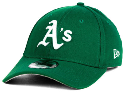Oakland Athletics MLB St. Patty Classic 39THIRTY Cap Hats