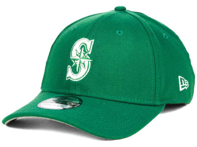 Seattle Mariners MLB St. Patty Classic 39THIRTY Cap Hats