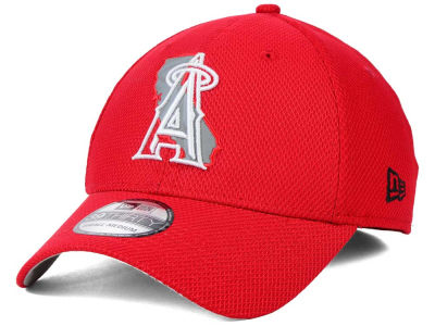 Los Angeles Angels MLB State Flective 39THIRTY Cap Hats
