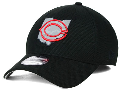 Cincinnati Reds MLB State Flective 39THIRTY Cap Hats