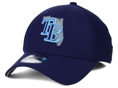 Tampa Bay Rays MLB State Flective 39THIRTY Cap Hats
