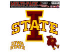 Iowa State Cyclones Moveable 8x8 Decal Multipack Bumper Stickers & Decals