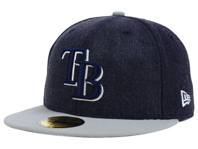 Tampa Bay Rays MLB The Eaton 59FIFTY Cap Hats
