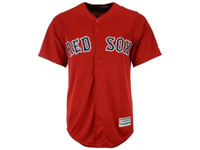 Lids Custom Hats >> Boston Red Sox Majestic MLB Men's Blank Replica Cool Base Jersey | lids.com