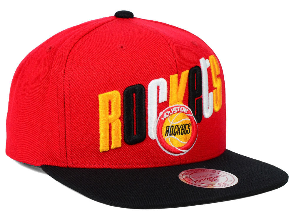 new arrival 01cc5 f05bb ... get durable service houston rockets mitchell and ness nba big poppin snapback  cap 1ef53 2afb2