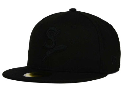Spokane Indians MiLB Black on Black 59FIFTY Cap Hats