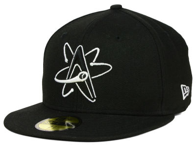 Albuquerque Isotopes MiLB Black and White 59FIFTY Cap Hats