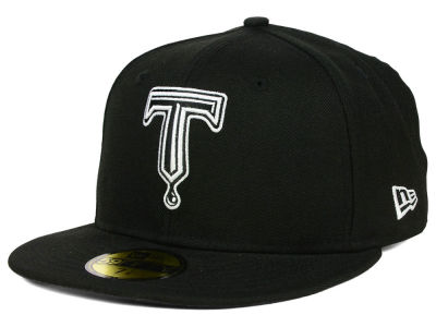 Tulsa Drillers MiLB Black and White 59FIFTY Cap Hats