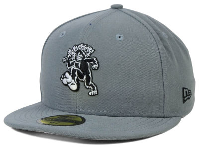 Eugene Emeralds MiLB Gray Black White 59FIFTY Cap Hats