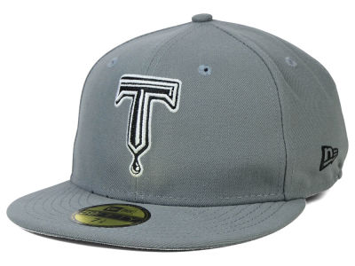 Tulsa Drillers MiLB Gray Black White 59FIFTY Cap Hats
