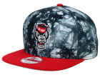 North Carolina State Wolfpack New Era NCAA Overcast 9FIFTY Snapback Cap Adjustable Hats