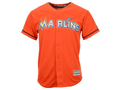 Miami Marlins Majestic MLB Youth Blank Replica Jersey  a3c210962