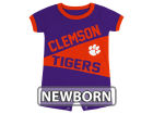 Clemson Tigers Colosseum NCAA Newborn Megaphone Romper Infant Apparel