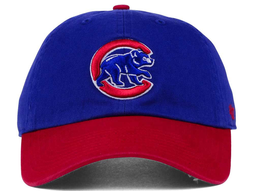 best service 83ed8 d988e outlet Chicago Cubs  47 MLB Core  47 CLEAN UP Cap