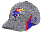 Kansas Jayhawks Top of the World NCAA HOTD M-Fit Cap Stretch Fitted Hats