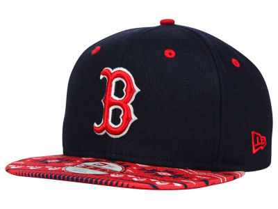 Boston Red Sox MLB Fair Isle Print 2.0 9FIFTY Snapback Cap Hats