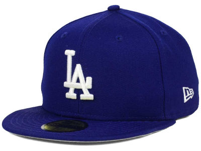 Los Angeles Dodgers MLB Stadium Patch 59FIFTY Cap Hats