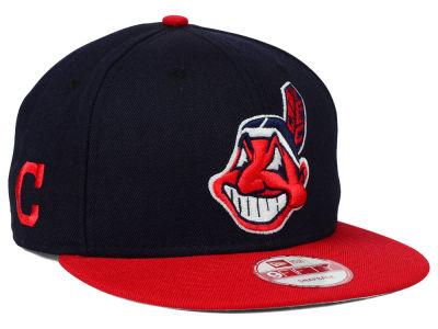 Cleveland Indians New Era MLB 2 Tone Link 9FIFTY Snapback Cap  ad839a762c0
