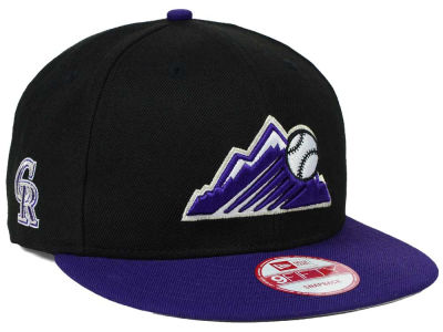 Colorado Rockies MLB 2 Tone Link 9FIFTY Snapback Cap Hats