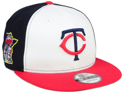 Minnesota Twins MLB 2 Tone Link 9FIFTY Snapback Cap Hats