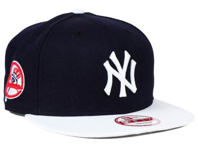 New York Yankees MLB 2 Tone Link 9FIFTY Snapback Cap Hats