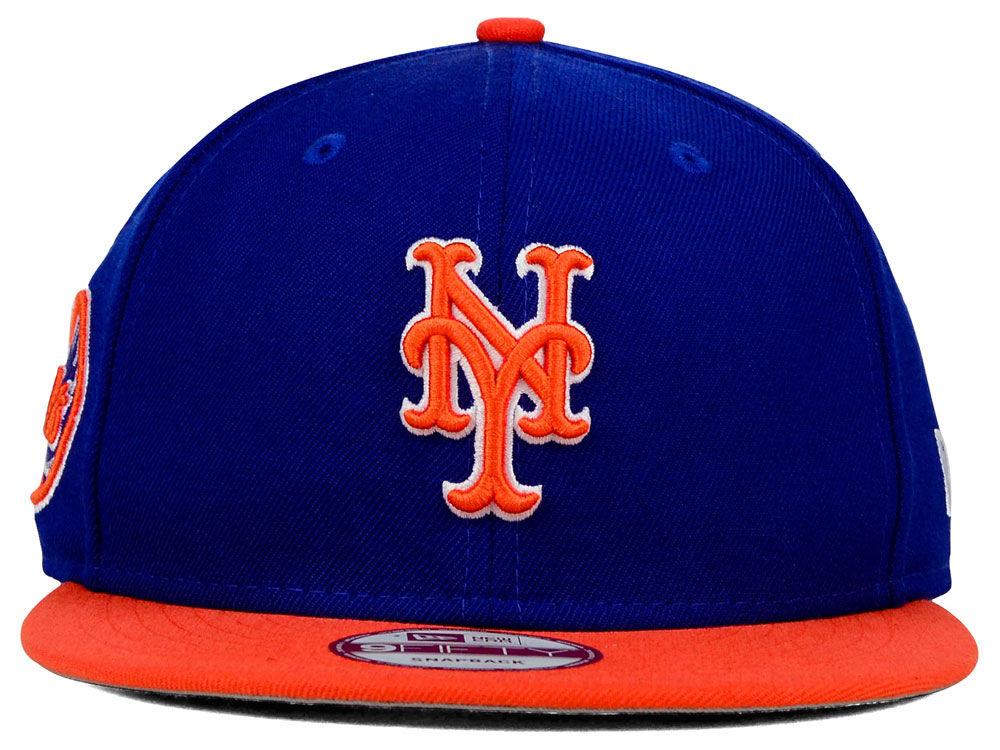 32e965a8990d1 85%OFF New York Mets New Era MLB 2 Tone Link 9FIFTY Snapback Cap ...