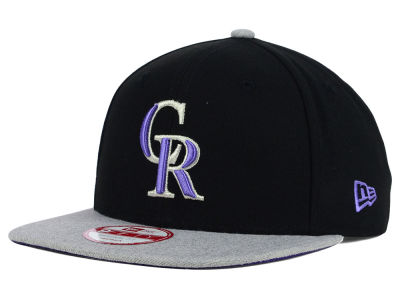 Colorado Rockies MLB Logo Refresh 9FIFTY Snapback Cap Hats