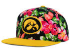 Iowa Hawkeyes Top of the World NCAA Waverunner Snapback Hat Adjustable Hats