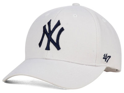 New York Yankees  47 MLB White MVP Cap  f54273c72e6