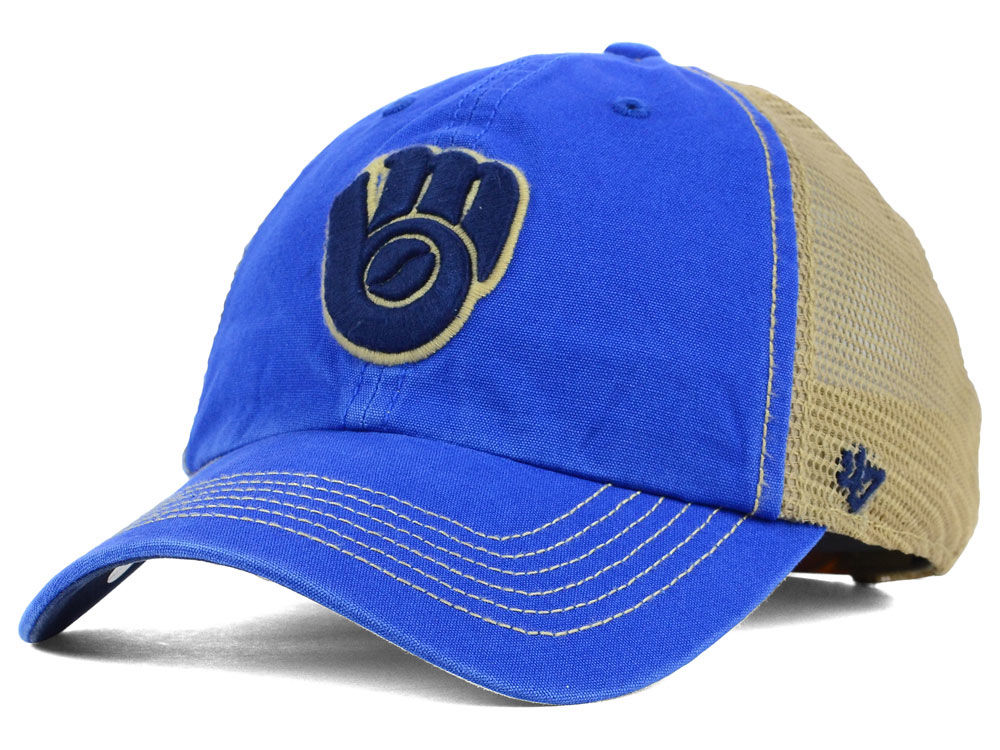 separation shoes 2bdd2 cb72b ... discount code for 50off milwaukee brewers 47 mlb santa lucia 47 clean  up cap dc36c 0835e