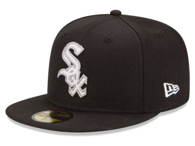 Chicago White Sox MLB Logo Lush 59FIFTY Cap Hats