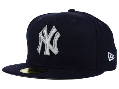 New York Yankees MLB Logo Lush 59FIFTY Cap Hats